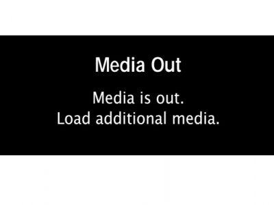 Media Out Zebra ZT411