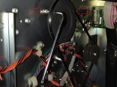 Cách thay dây curoa máy in Zebra 110Xi4